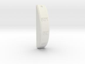 T6 Flap Guide cove inner in White Natural Versatile Plastic