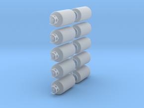 40lb propane tanks in Smooth Fine Detail Plastic: 1:24