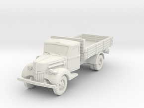 Ford V3000 early (open) 1/87 in White Natural Versatile Plastic