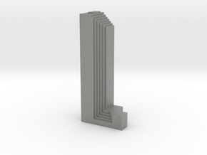 Three First National Plaza - Chicago (1:4000) in Gray PA12
