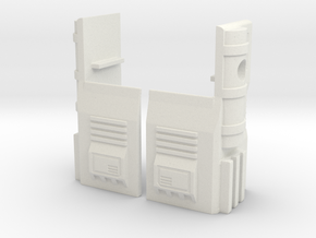 TF WFC Siege - Ultra Magnus G1 Thigh Accessories in White Natural Versatile Plastic