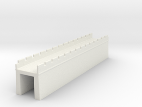 the great wall of china  1/600 m in White Natural Versatile Plastic