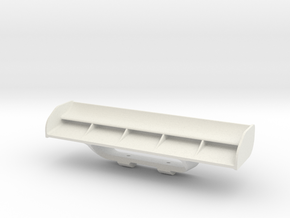 Mini-Z F1 rear wing in White Natural Versatile Plastic