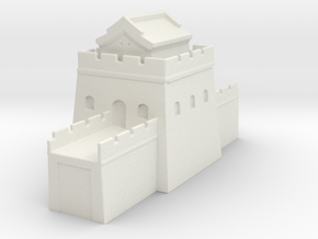 the great wall of china  1/600 tower s  roof  in White Natural Versatile Plastic