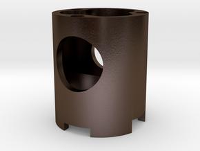 K4 Chassis speaker holder in Polished Bronze Steel
