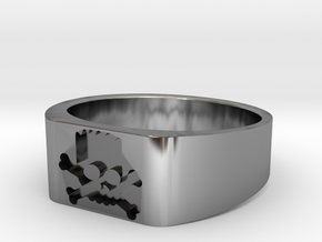 Bort Sampson ring small in Antique Silver: 7 / 54