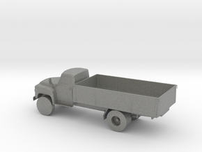 S Scale Flat Bed Truck in Gray PA12
