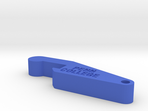 bottle opener in Blue Processed Versatile Plastic