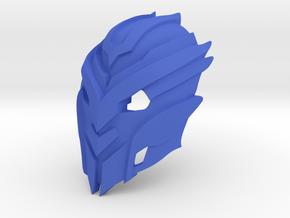 Kanohi Savitar in Blue Processed Versatile Plastic