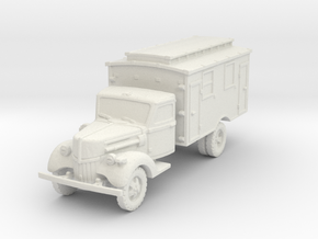 Ford V3000 Ambulance early 1/120 in White Natural Versatile Plastic