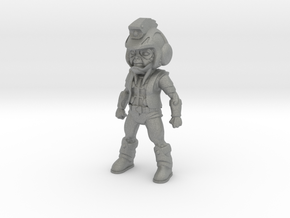 Primacron homage Space Monkey 3.75inch Mini Figure in Gray PA12