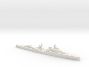 Luigi Cadorna light cruiser 1:3000 WW2 in White Natural Versatile Plastic