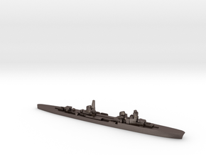 Duca d'Aosta light cruiser 1:3000 WW2 in Polished Bronzed-Silver Steel