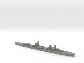 Duca d'Aosta light cruiser 1:3000 WW2 in Gray PA12