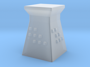 2mm / 3mm Scale Guard Tower in Smooth Fine Detail Plastic