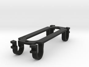 Tele-neck sized for parlor guitar - (eureka)Sound in Black Natural Versatile Plastic