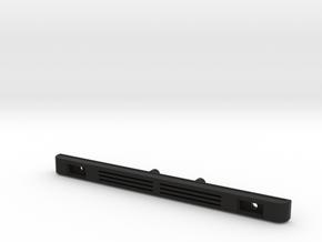 OE Style Bumper for Redcat Gen 8 in Black Natural Versatile Plastic