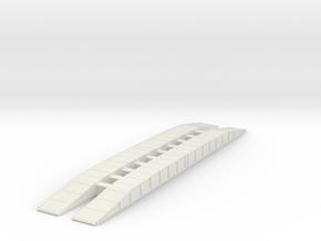 M60 AVLB Bridge 1/87 in White Natural Versatile Plastic
