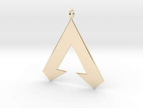 Apex Legends Pendant in 14k Gold Plated Brass