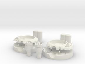 TASM1 Web Shooter in White Natural Versatile Plastic
