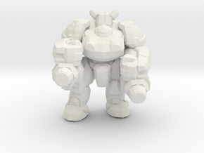 Starcraft 1/60 Terran Heavy Marauder small 4 games in White Natural Versatile Plastic