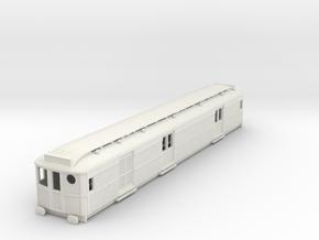 o-87-ner-d100-motor-luggage-van in White Natural Versatile Plastic
