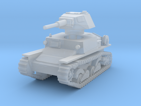 L6 40 Light tank 1/144 in Smooth Fine Detail Plastic