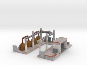 C-Nus15 - Old factory in Matte Full Color Sandstone