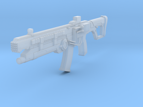1:6 Miniature SOWSAR-17 Type G Assault Rifle in Smooth Fine Detail Plastic