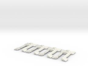 Nave Xenos in White Natural Versatile Plastic