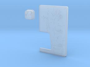 JUICY Door & Button Combo in Smooth Fine Detail Plastic