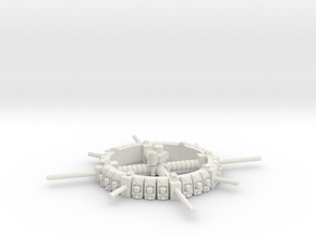 Merchant Space Station in White Natural Versatile Plastic