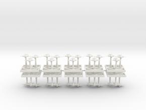 Ork Bombas - Concept B  in White Natural Versatile Plastic