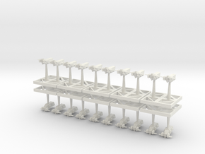 Space Marine Transports - Concept B  in White Natural Versatile Plastic