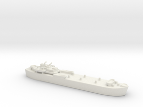 landing ship tank MK3 LST MK3 1/1200 1  in White Natural Versatile Plastic