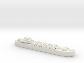 landing ship tank MK3 LST MK3 1/600 2 in White Natural Versatile Plastic
