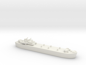 landing ship tank MK3 LST MK3 1/600 in White Natural Versatile Plastic