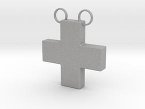 Plus Necklace in Aluminum