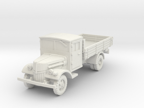 Ford V3000 late (open) 1/56 in White Natural Versatile Plastic