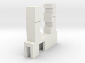 Halter Märklin Innenbeleuchtung 7mm x 1.6mm in White Natural Versatile Plastic