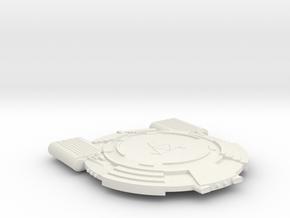 3788 Scale Andromedan Conquistador Light Cruiser in White Natural Versatile Plastic
