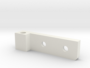 T6 Throttle Riser lock pin guide lower #3 in White Natural Versatile Plastic