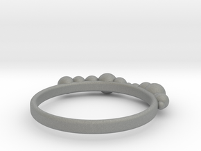 Balled Ring in Gray PA12