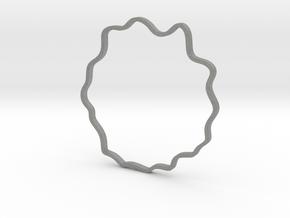Wavy Bracelet in Gray PA12