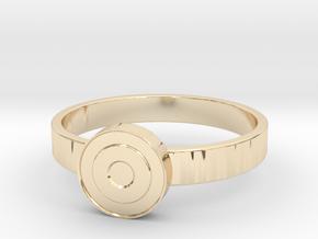 Eye Ring in 14K Yellow Gold