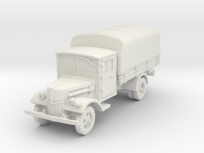 Ford V3000 late (covered) 1/56 in White Natural Versatile Plastic