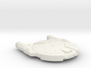 3788 Scale Andromedan Mamba Heavy Destroyer SRZ in White Natural Versatile Plastic