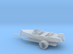 Printle Thing Boat and Trailer - 1/48 in Smooth Fine Detail Plastic