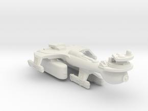 3788 Scale Klingon B10T Emergency Battleship WEM in White Natural Versatile Plastic