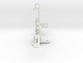 Samsung Galaxy A40 tripod & stabilizer mount in White Natural Versatile Plastic